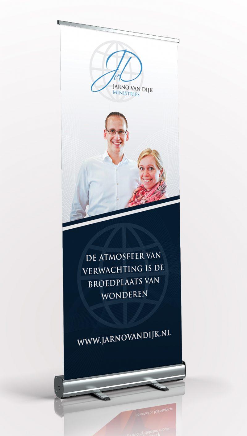 Banner Jarno van Dijk Ministries