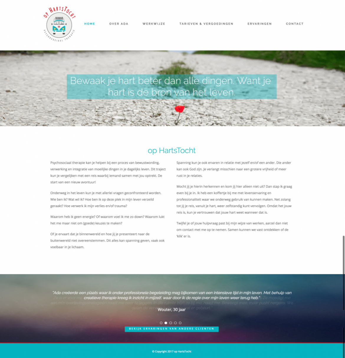 Website op Hartstocht
